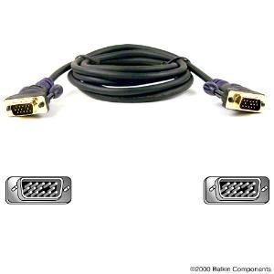 Picture of Belkin Monitor Video Cable - 15 m HD-15 Male - HD-15 Male